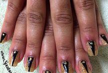 Graduation Nails / High School and College graduation celebration nails.