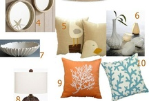 Coastal Inspiration / Coastal home decor