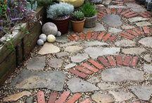 Ogród - ścieżki / Ogród - ścieżki