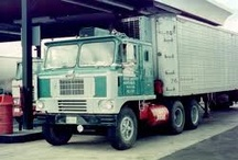 White trucks / by Fred Gilliland