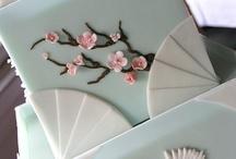 cinesi giapponesi fiori di dpesco