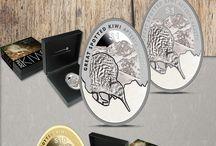New Zealand Mint / New Zealand Mint coins distributed by EMK / Münzen der New Zealand Mint im Angebot bei EMK.