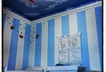 cameretta - decorazioni murarie