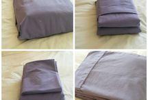 Laundry folding tips