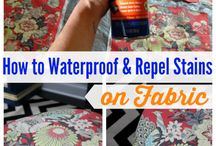 Cleaning/Waterproof & Repel Stains on Fabric/