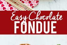Chocolate poundue