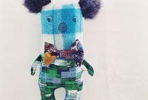 Stuffed animals dolls