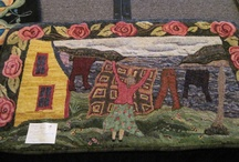 Rug Hooking Pictorials / by Sylvia Gauthier