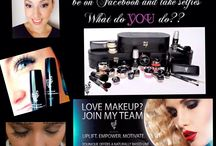 Makeup makes me happy! / Makeup artist - lover of makeup - love running my business from home!