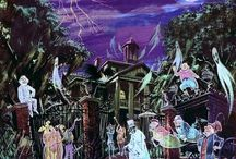 Disney's Haunted Mansion!!  The Real Deal, Fan Art, Etc...... / by Michele Lowe