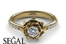 Rose Engagement Ring / The most beauitfull Rose Engagement ring.