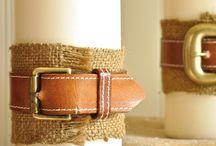 old belts & buckles