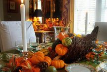 Thanksgiving / Thanksgiving is right around the corner. Get ready with some of these decorating tips and favorite recipes. / by EcoTimber