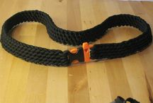 Paracord belt  / Side release buckle