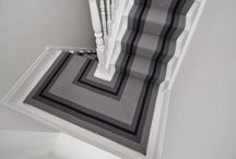 Off The Loom Stair Runner | Point 1 (with turned edge)