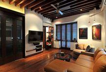TV Room Designs, TV Unit Designs / Designs of TV rooms, home theatres, TV units