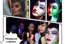 Halloween / #halloween# #makeup# #costume#