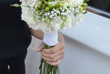 Ślub / bukiety ślubne,dekoracje samochodu, przypinki, bransoletki