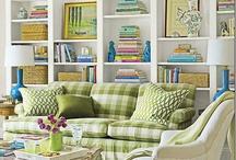 Bookcase Styling / by Jennifer Adams