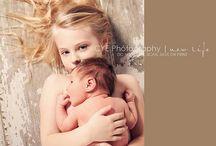 Nyfødt/søsken inspirasjon