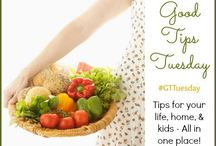Good Tips Tuesday #GTTuesday / Posts from the weekly Good Tips Tuesday linky party hosted by sherrylwilson.com | abirdandabean.com | happybrownhouse.com   Parenting, homemaking, recipes, cooking tips, kids activities, kids crafts / by Simply Sherryl