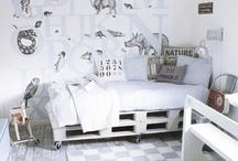 Drenge værelse / Ideer til Hjaltes værelse