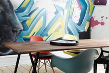 Graffiti interior design!