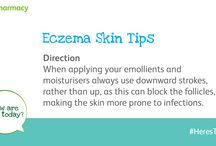 Eczema Daily Skin Tips / We are skin experts and we have pulled together a range of handy skin tips to help you look your best at all times. #HeresToSkin