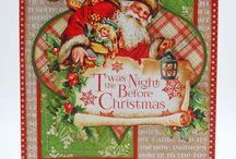 Scrapbooking Graphic 45 Night Before Christmas