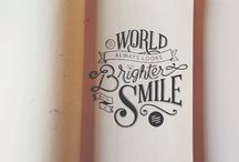 Typography and other beautiful stuff