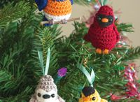 かぎ針編みの鳥