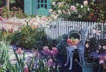 Puutarha garden / Garden and flowers