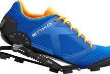 Strange sport shoes