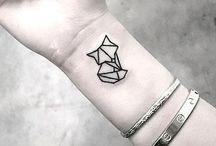 Fantasy wrist tattoo