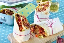 Wraps, Tacos, Burritos and Sandwiches