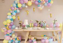 Детские фотозоны и сладкие столы