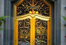 Doors, Gates, Entryways, Portals, Windows  / by Pixel Chyk