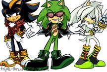 the suppression squad/anti Sonic characters