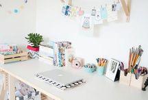 Düzenli çalışma masaları