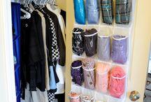 Closet organization / by Leslie Kash