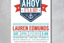 Nautical Baby Shower / by One Swell Studio - Cara McGrady