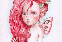 Fairy / fairy, magic world