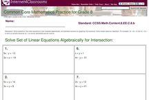 8th Grade CCSS Math