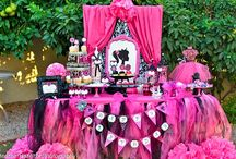 Barbie Party Candy Buffet / by Debby Anderson