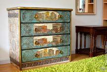 декор изделийдизайн / дизайн старой мебели