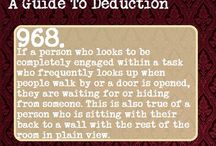 A guide to deduction/deception
