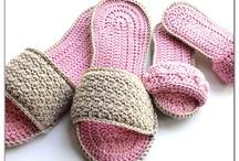 crochet: shoes