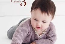 Baby strik bøger / Strik
