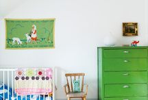 green - children's room