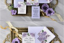 Purple and Lilac wedding colours, ideas